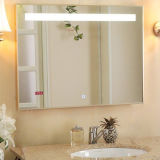 Iluminado LED Iluminado Anti Fog Bathroom Mirror for Us Hotel