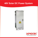 Système à énergie solaire extérieur d'alimentation CC De l'utilisation 48V de télécommunications avec le module solaire de MPPT