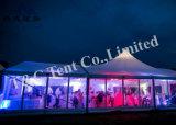 Tela impermeable tienda de gran pabellón para los muebles de jardín de boda al aire libre