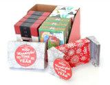 Pequeño rectángulo de regalo de papel modificado para requisitos particulares de la alta calidad para la Navidad