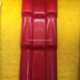 Плитка крыши PVC /ASA плитки толя /ASA листа толя синтетической смолаы испанская пластичная