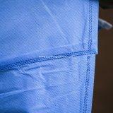 Les fournisseurs médicaux remplaçables de tissu non-tissé ont stérilisé la robe chirurgicale