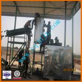 Usine de réutilisation noire d'huile à moteur au bon carburant- diesel