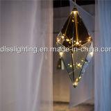 حديثة إبداعيّة كهرمانيّة زجاجيّة تعليق [لد] ماس مدلّاة ضوء