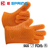 Gants antidérapage respirables de silicones de température élevée