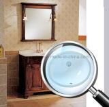 Mano rotonda di ceramica della lavata di Cupc sotto il contro bacino per la stanza da bagno Sn005