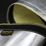 アルミホイルの上塗を施してあるガラス繊維の反射防熱装置の袖