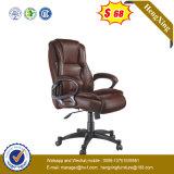 Belüftung-Büro-Möbel-Schwenker-Leder-Spitzenbüro-Stuhl (NS-704A)