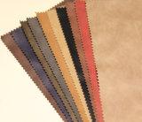 Couro sintético do falso elegante de Yangbuck do estilo para sapatas, sacos, vestuário, decoração (HS-Y74)
