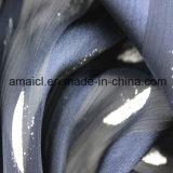 Ткань печатание фольги Crepe&Gold