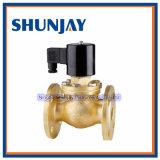C.A. de bronze da válvula de solenóide 220V do ar da água