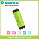 Haut-parleur stéréo sans fil imperméable à l'eau de Bluetooth V4.0 pour des sports en plein air de Smartphone