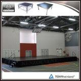 Étape mobile en aluminium d'étape sèche chaude de vente pour des événements