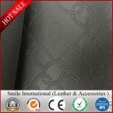 Кожа PVC синтетическая для кожи губки PVC PVC мешка выбитой искусственной кожей