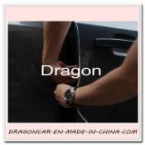 Protetor da tira do molde da guarnição da proteção do protetor da borda da porta do carro de prata auto 15 medidores
