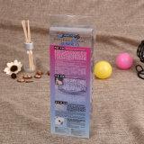 Caixa cosmética de dobramento plástica do PVC do pacote do PVC para o pacote do batom (caixa cosmética do PVC)
