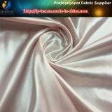 Satén común, tela del satén del poliester, tela de seda del satén Twisted brillante (carta de color 3)