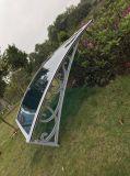 Het Waterdichte Materiële Openlucht Afbaardende Zonnescherm met hoge weerstand van de Luifel