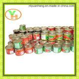 Законсервированная еда высокого качества затира оптовой продажи томата законсервированная