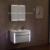 Vanità della stanza da bagno del fornitore ss di Foshan con lo specchio 076 di illuminazione