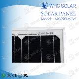 mono comitato solare di 250W Whc per il sistema solare