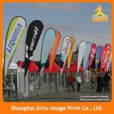 Флаги пляжа высокого качества декоративные, рекламируя флаги пляжа случая (JTAMY-2015120508)