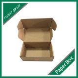 Коробка перевозкы груза бумаги Kraft упаковывая Corrugated с изготовленный на заказ логосом