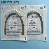 FDA van Denrum bevestigde Orthodontische thermaal Geactiveerde Niti om Draden