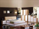Qualitäts-klassisches hölzernes Möbel-Schlafzimmer-Set-Bett (HX-LS033)
