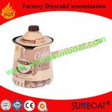 Europäischer Decklack-Kaffee-Potenziometer/Teekanne der Art-725ml mit Kappe