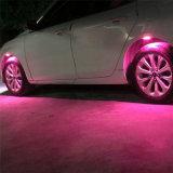 車LEDの点滅の車輪はタイヤの軽い大気ランプをつける
