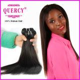 Prezzo all'ingrosso dei capelli umani all'interno di grande tessuto brasiliano diritto di riserva dei capelli 10A