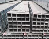 Nessun bave, nessun rilievo, tubazione d'acciaio galvanizzata quadrata di 100X100 millimetro