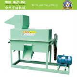 El bloque plástico del animal doméstico de los PP del PE embotella la película que se lava reciclando la máquina