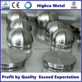 Embout en acier inoxydable pour balustrade en tube de 38,1 mm