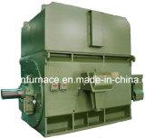 Высоковольтный магнитный электрический двигатель с верхним установленным охладителем Воздух-Воды