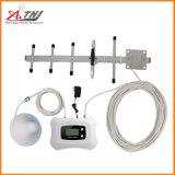 Trabajo móvil del repetidor de Siganl del teléfono celular del aumentador de presión de la señal de Dcs1800MHz para 2g 4G