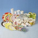 Wegwerfplastikplatten-Herstellung-Maschine