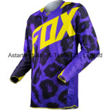 Пурпуровый изготовленный на заказ участвуя в гонке Motocross сублимированный Джерси Джерси (MAT37)