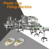 가득 차있는 자동적인 컵 요구르트를 위한 채우는 밀봉 기계