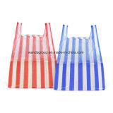 Относящий к окружающей среде содружественный мешок тенниски нашивки в пакете