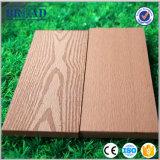 Decking impermeabile riciclato di struttura di legno sintetica materiale WPC