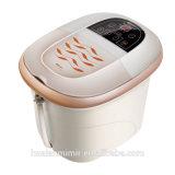 Masajeador de baño de pies con calentamiento de burbujas de oxígeno mm-8818