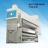 Parte inferior de la máquina impresora