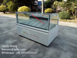 Popsicles / Ice Lolly / Sticks Display Gabinete Freezers / Ice Cream Showcase Machines