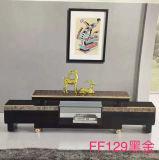 Basamento di colore nero TV & tavolino da salotto moderni (FF129)