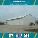Almacén prefabricado barato de la estructura de acero del marco de acero del panel de Alc