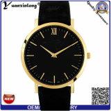 Вахты бизнесменов оптовой продажи нестандартной конструкции wristwatch моды кожи Mens кварца вахты хорошего качества способа Yxl-339