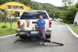 500 lbs Motorcycle Carrier, Tilting Design