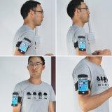 iPhone 7のための伸縮性があるLycra TPUのスポーツの腕章の箱